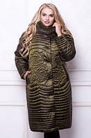 Пуховик женский, большие размеры