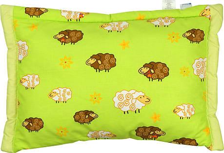 Детская подушка цветная 40х60 из овечьей шерсти, фото 2