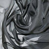 Тюль черная Вуаль, однотонная + высококачественный пошив