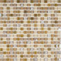 Мозаика мрамор стекло Vivacer CS07