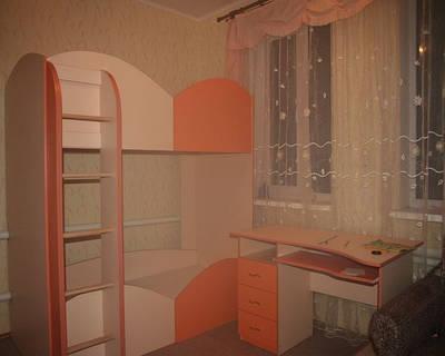 Детские комнаты, кровати, горки