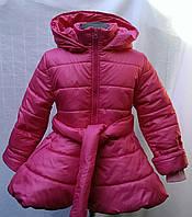 Детское пальто  на синтепоне.