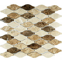 Мозаика мраморная Vivacer RL 008