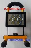 Светодиодный переносной прожектор со встроенным аккумулятором BOILONG BL-N06, фото 1