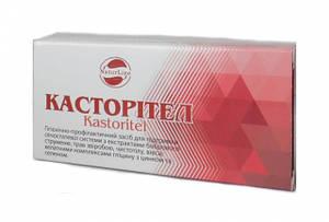 Касторител, свечи с экстрактом бобровой струи №10