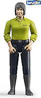 Bruder Фигурка женщины  в темно - синих брюках  (60405)