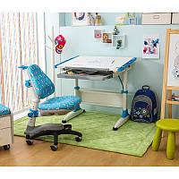 Парта-трансформер KidsMaster K1-Durer Desk с ящиком для канцелярии Blue, фото 1
