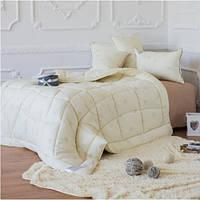 Одеяло из овечьей шерсти ТМ Идея двуспальное