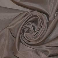 Тюль т. коричневая Вуаль Шоколад, однотонная + высококачественный пошив