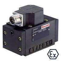 Сервораспределители Bosch Rexroth 4WS2EM 10…XH с механической обратной связью (Рексрот)