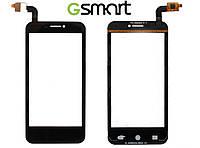 Сенсорный экран (Touchscreen) для Gigabyte GSmart Maya M1, оригинальный (черный)