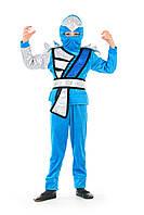 """Дитячий костюм """"Ниндзяго"""" блакитний, фото 1"""
