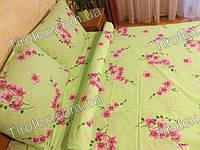 Белье постельное 1,5 спальное из хлопка производства Украина, фото 1
