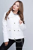 Белая женская куртка Feliz, демисезонная, куртка весна-осень