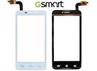 Сенсорный экран (Touchscreen) для Gigabyte GSmart Maya M1, белый, оригинал