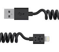 USB - Lightning cable for Apple (iPhone 5, iPad 4/Mini) Belkin (пружина) (BK02306)