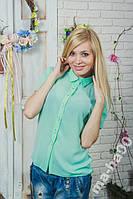 Рубашка женская шифоновая. Размеры 42 __50