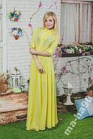 Платье в пол. Размеры от 42 до 50