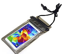 Водонепроницаемый чехол для телефона чёрный