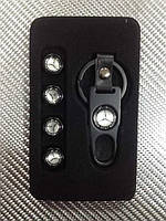 Колпачки на ниппель в коробке (4 шт.+ ключ) Mersedess Benz-MS