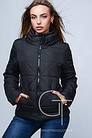 Черная женская куртка  K&ML , демисезонная курточка, куртка весна-осень