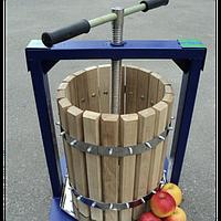 Прес ручний дубовий для винограду Вілен, 20 л