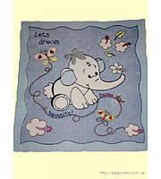 Плед - одеяло для детей 1м x 1м