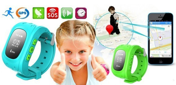 Smart Baby Watch Q50 дитячі годинник з GPS трекером