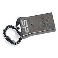 USB флешка SiliconPower Touch T01 16Gb Black metal ( SP016GBUF2T01V1K ), фото 1