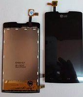 Оригинальный дисплей (модуль) + тачскрин (сенсор) для LG Joy Y30   H220   H221   H222TV