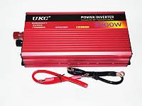 Преобразователь инвертор UKC 12v-220v 3000W. Отличное качество. Портативная розетка. Купить онлайн Код: КДН826