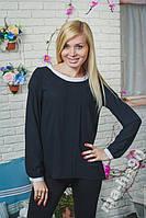 Блуза женская шифон. Размеры  42__50