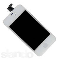 Дисплей (LCD) для iPhone 4S + touchscreen white orig