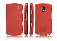 ICarer Genuine leather case for Samsung i9250 Galaxy Nexus, red (RS925001RD)