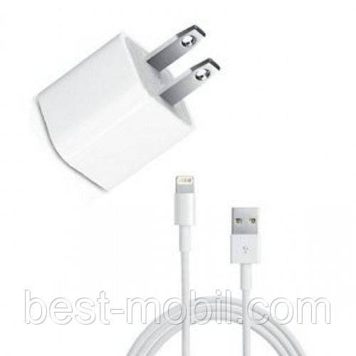 Cетевое зарядное устройство для iphone 6 в упаковке