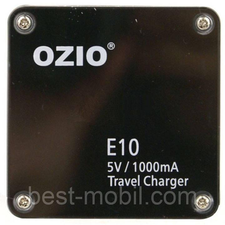 Сетевое зарядное устройство OZIO E10 usb (1000 мА)