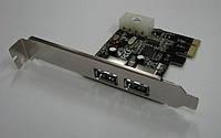 Плата PCI-E Express USB 3.0 2 порта 15 Gbps