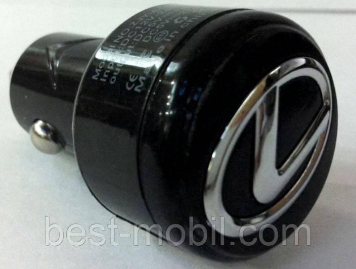 Автомобильное зарядное устройство Super 2 USB (5 V 2100 mAh) Lexus (DLS-C08)