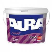 Универсальная краска Aura Fasad Expo 1л – для фасадов и интерьеров