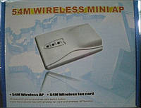Wi-Fi точка доступа/сетевая карта 54M WIRELESS MINI AP
