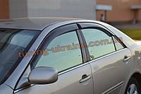Дефлекторы окон (ветровики) COBRA-Tuning на TOYOTA CAMRY V SD 2001-2006