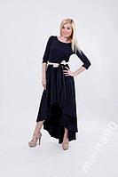 Платье женское с поясом. Размеры  42__50