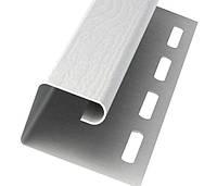 Планка J-Trim Vox max 3  белая