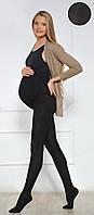 Колготки для беременных теплые с модалом 250 den черные