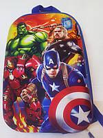 Детский рюкзак каркасный Мстители