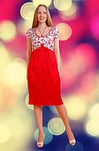 Платье женское из атласа