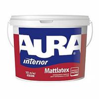 Aura Mattlatex 10л – Моющаяся Краска Для Потолков И Стен. Матлатекс