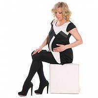 Колготки для беременных Elegans (microfibr+cotton) 150 den черные, фото 1