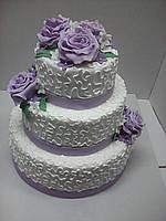 Свадебный торт Нежность на заказ в Днепропетровске
