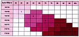 Колготки теплі для вагітних з малюнком 320 den чорні бавовняні, фото 2